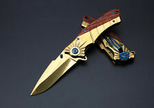 NEW! GOLD! HOT SALE!  utility sharp outdoor survival camping hunting knife KB54