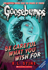 Be Careful What You Wish for by R. L. Stine (Paperback, 2009) New Book