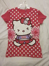 New $20.00 SANRIO - HELLO KITTY Beautiful Junior Rose Pink Top -  Size:  L
