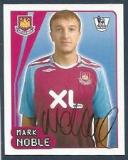 MERLIN-2008-F.A.PREMIER LEAGUE 08- #608-WEST HAM UNITED-MARK NOBLE