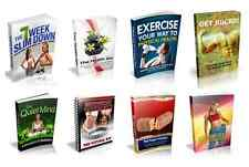 100 Fitness & Health eBooks with Resell Rights  ( Only 10 ¢ per Book )    PDF