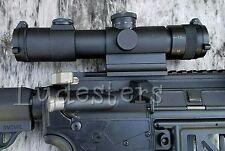 Slim QD 4x20 Mil-Dot Compact Scope,Tactical, sniper, RED GREEN illuminated