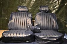 Sitzbezüge für die Vordersitze Mercedes SL R/W107,SLC blau ab Bj.85