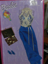 1999 BARBIE FASHION AVENUE BREAKFAST IN BED LINGERIE WITH GODIVA CHOCOLATE BOX!!
