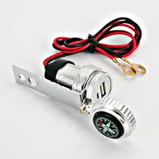 Aluminum USB Charger for Yamaha Road Star Silverado Midnight Warrior 1700 1600