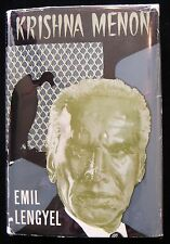 KRISHNA MENON, by Emil Lengyel 1962 [signed] Biography India Defense Minister