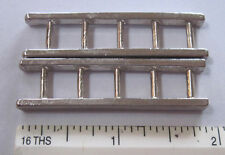 "pair of Arcade cast metal ladders for smaller fire truck 2 "" by 1/2"""