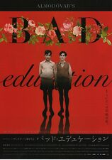 Bad Education - Original Japanese Chirashi Mini Poster style A - Almodovar