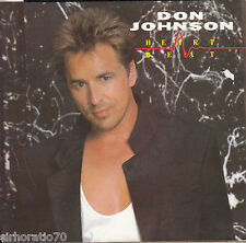 DON JOHNSON Heartbeat / Can't Take Your Memory 45 -Promo