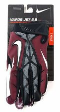 Nike Football Vapor Jet 2.0 Sticky Glove Magnigrip Maroon Black Adult Medium