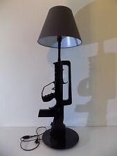 LAMPE DESIGN FAMAS NOIR (chevet bureau table gun militaire police arme no Starck