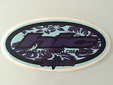 RARE Hawaiian Island Creations HIC Surf Surfboard Sticker Decal - Last One!