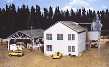 Walthers # 3059 Planing Mill and Shed  Kit  HO MIB