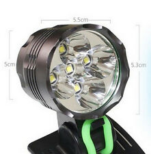 8000Lm 5x CREE XM-L U2 LED Front Bicycle Light bike Headlamp Head lamp Headlight