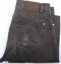 Pierre Cardin  Straight Fit Brown Men Jeans Size W33 L34 Cotton