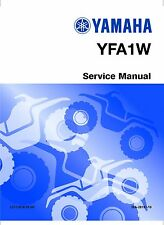 Yamaha ATV service workshop base and supplement manual 2000 Breeze YFA1M(C)