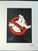 Ghostbusters - Logo - Hand Drawn & Hand Painted Cel