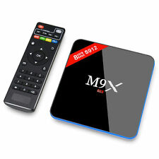 M9X Android 6.0 Tv Box S912 2G/16G Kodi 17.0 64 bit BT4.0 Dual Wifi Media Player