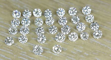 1-1.1mm 0.21cts 30pc I Clarity J Color Natural Loose Brilliant Cut Diamond Round