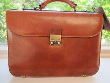 Piquadro Tamponato tan two-compartment briefcase CA762