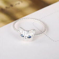 New Fashion Accessories Jewelry Cute Cat Design Finger Ringfor Girl's Jewelry