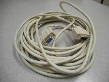 L-COM E89980-A DATA CABLE 9-PIN MALE & FEMALE 26AWG 300V SHIELDED APPROX 24FT 4""