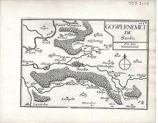 Antico mappe, gouvernement DE senlis