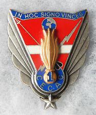INSIGNE INFANTERIE - 1° Régiment d'Infanterie - 1° C.E.C.A.C. - Matriculé
