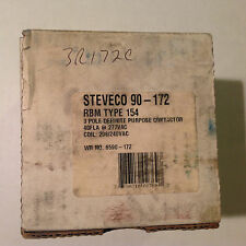 New WR NO. 6590-172 Steveco 90-172 3 pole 277Vac 208/240Vac RBM TYPE 154