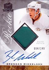 08-09 The Cup JERSEY AUTO ROOKIE xx/249 Made! Brendan MIKKELSON #80 - Ducks