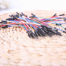 65x Male to Male Solderless Flexible Breadboard Jumper Electrical Cable Wires