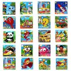 Wooden 9 PC Animals Jigsaw Toys For Kids Education And Learning Puzzles Toys