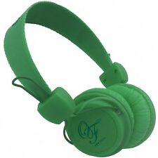 Original Fake 00 Green Stereo Headphones Color Green - Light with microphone New