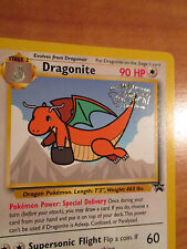 PL DRAGONITE Pokemon PROMO Card #5 Rare Wizard BLACK STAR Set Movie Release WB
