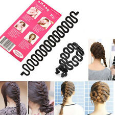 1Pc  French  Hair Roller With Hook Magic Twist Styling Braiding Tool Bun Maker