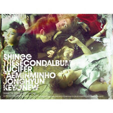 SHINEE - 2nd Album [LUCIFER] TYPE A CD K-POP Seal SM