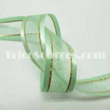 """Sewing Organza Ribbon Craft and Gift Design Ribbon 5/8""""-16mm x 25YDS - B4023"""