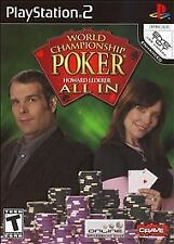 "World Championship Poker: Featuring Howard Lederer ""All In""  (Sony"