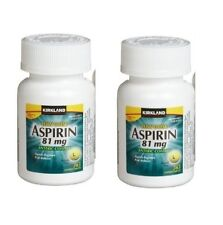 Kirkland Low Dose Aspirin 81mg 2x 365 Enteric Coated Tabs