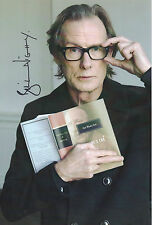 BILL NIGHY personally signed 12x8 - LOVE ACTUALLY, PIRATES OF THE CARRIBEAN