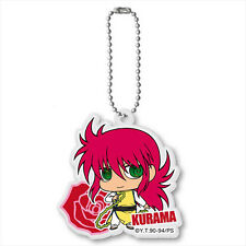 Yu Yu Hakusho Kurama Yellow Outfit Acrylic Key Chain Anime Licensed MINT