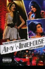 10973 // AMY WINEHOUSE LIVE IN LONDON I TOLD YOU I WAS  TROUBLE DVD NEUF