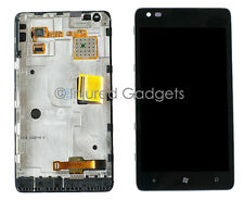 LCD Display With Touch Screen +Glass Digitizer+Lens Assembly For Nokia Lumia 900