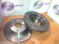 BMW 318is 320i 325i 323i 328i  Z3 Z4 ROADSTER SLOTTED DISC BRAKE ROTORS FRONT