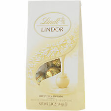 2-Bags Lindt White Lindor Truffles With A Smooth Filling 5.1oz each EXPEDITED