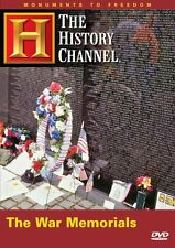 MONUMENTS: THE WAR MEMORIALS (HISTORY CHANNEL) NEW AND SEALED