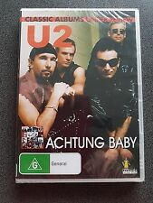 U2 ACTUNG BABY DVD SEALED AS NEW
