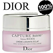 100%AUTHENTIC HUGE 50ml DIOR CAPTURE Rides FIRST WRINKLES SMOOTHING CREME SEALED