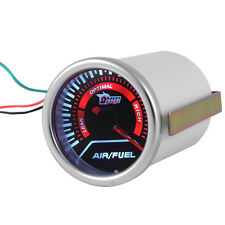 "2"" 52mm Universal Indicator Smoke Lens Led Air/Fuel Ratio Gauge Car Motor Meter"