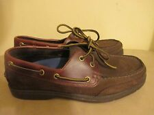 Rockport Men's  Slip-On Casual Boat Deck Shoes CHOCOLATE APM7138D Size 8.5M